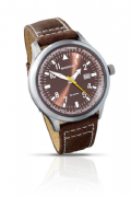 Sekonda 3882 Gents Luminous Analogue Date Leather Strap Sports Watch